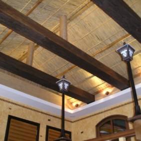 отделка потолка в квартире дизайн фото