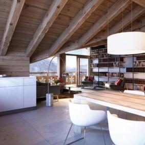 отделка потолка в квартире дизайн идеи