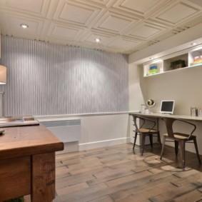 отделка потолка в квартире фото декор