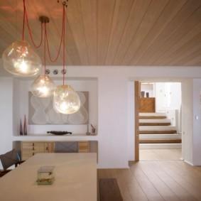 отделка потолка в квартире идеи дизайна