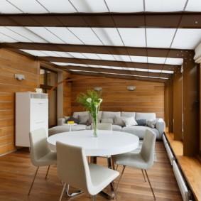 отделка потолка в квартире идеи интерьер