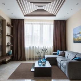 отделка потолка в квартире идеи интерьера