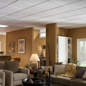 отделка потолка в квартире идеи вариантов