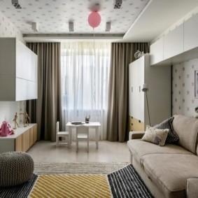 отделка потолка в квартире интерьер идеи