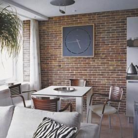 отделка стен декоративным камнем фото идеи