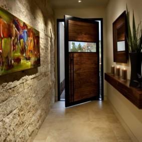отделка стен декоративным камнем идеи дизайна