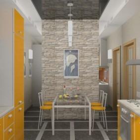 отделка стен декоративным камнем идеи оформления