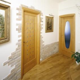 отделка стен декоративным камнем оформление фото
