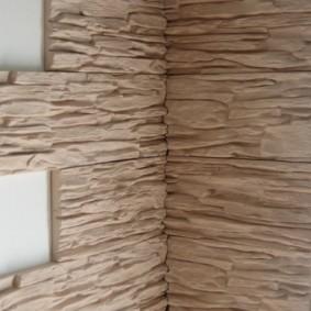 отделка углов стен в квартире дизайн идеи