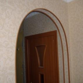 отделка углов стен в квартире фото дизайн