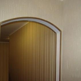 отделка углов стен в квартире фото дизайна