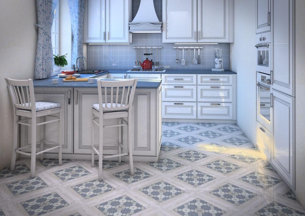 плитка для кухни на пол декор