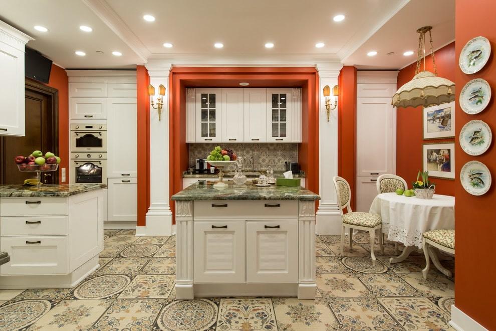 плитка для кухни на пол фото декор