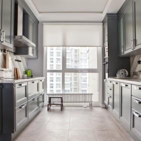 плитка для кухни на пол фото видов