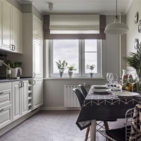плитка для кухни на пол идеи вариантов