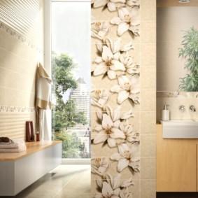 плитка для ванной комнаты дизайн