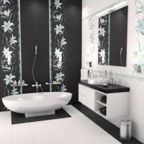 плитка для ванной комнаты дизайн идеи