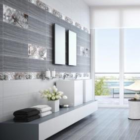 плитка для ванной комнаты фото идеи