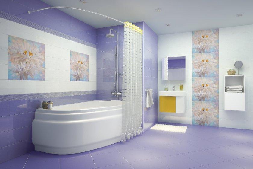 плитка для ванной комнаты фото оформление