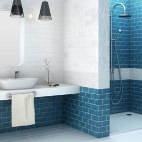 плитка для ванной комнаты фото вариантов