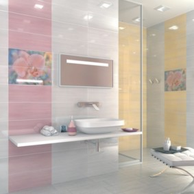 плитка для ванной комнаты идеи