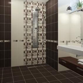 плитка для ванной комнаты идеи декора