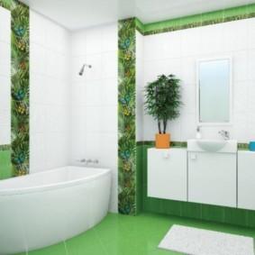 плитка для ванной комнаты идеи интерьера