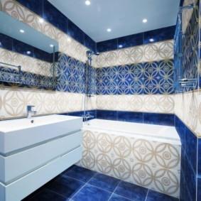 плитка для ванной комнаты идеи оформление