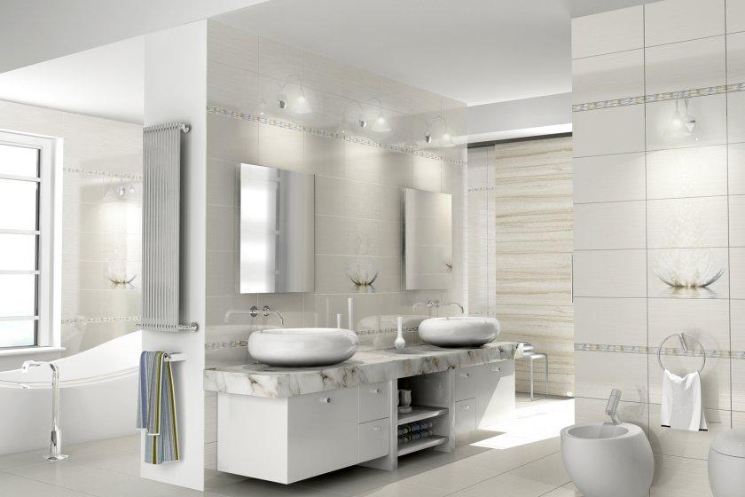 плитка для ванной комнаты идеи оформления