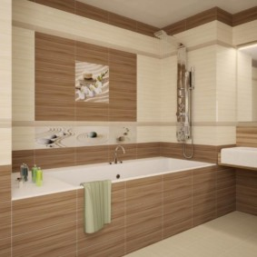плитка для ванной комнаты оформление фото