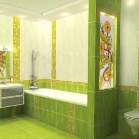 плитка для ванной комнаты варианты фото