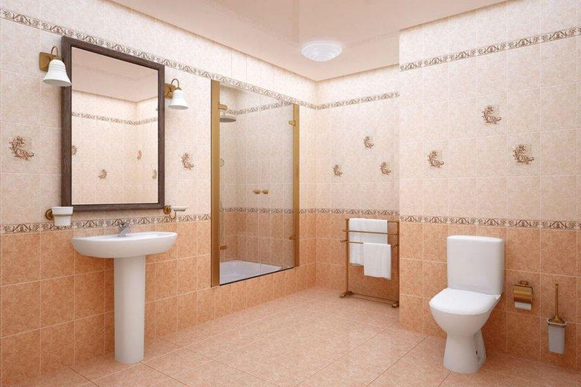 плитка для ванной комнаты варианты идеи