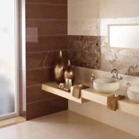 плитка для ванной комнаты виды фото