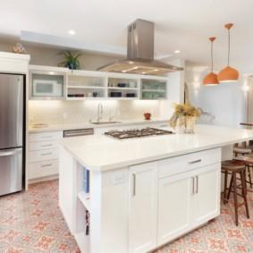 полки на кухне вместо навесных шкафов идеи оформление