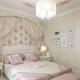 Прованс в оформлении спальни в квартире