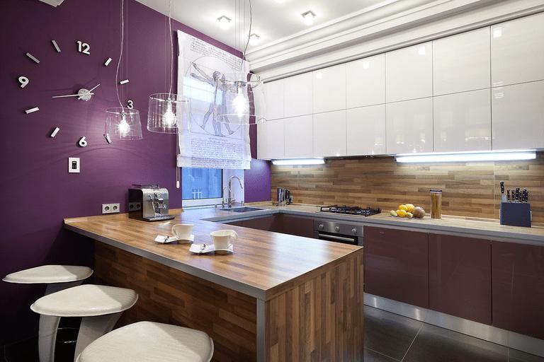 расстановка мебели и техники на кухне дизайн фото
