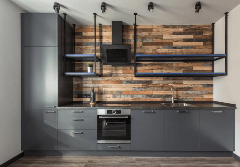 расстановка мебели и техники на кухне дизайн идеи