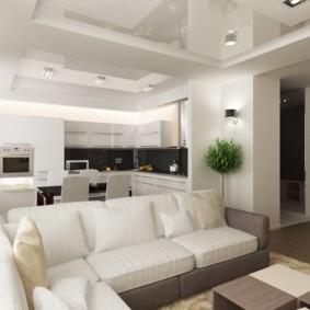 расстановка мебели и техники на кухне дизайн интерьера