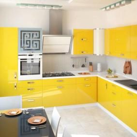 расстановка мебели и техники на кухне идеи декора