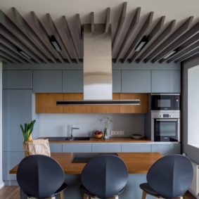 расстановка мебели и техники на кухне идеи дизайн
