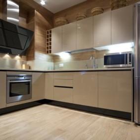 расстановка мебели и техники на кухне идеи оформления