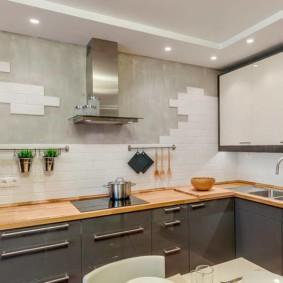 расстановка мебели и техники на кухне идеи вариантов