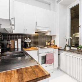 расстановка мебели и техники на кухне обзор идеи