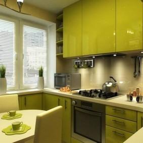 расстановка мебели и техники на кухне виды идеи