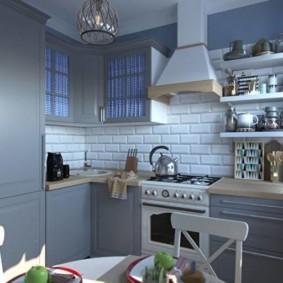 расстановка мебели и техники на кухне виды интерьера