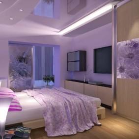 интерьер спальни по фен шуй мебель