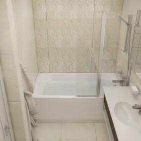 раздельная ванная комната фото дизайн