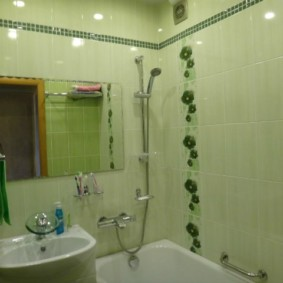 раздельная ванная комната фото интерьер