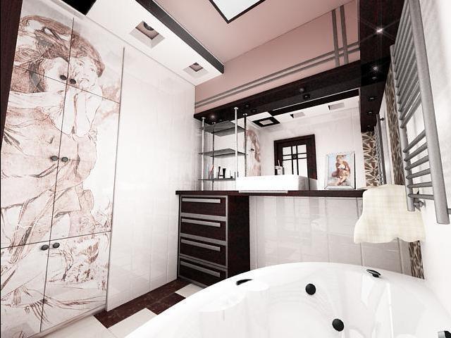 раздельная ванная комната идеи дизайна