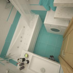 раздельная ванная комната фото